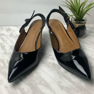 14th & Union Kiera Slingback Kitten Heel sz 9.5